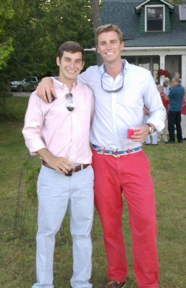love how southern boys dress.. not FLA boys, but GA, NC, Alabama and TX boys do it! need to go to grad school somewhere with boys like this.