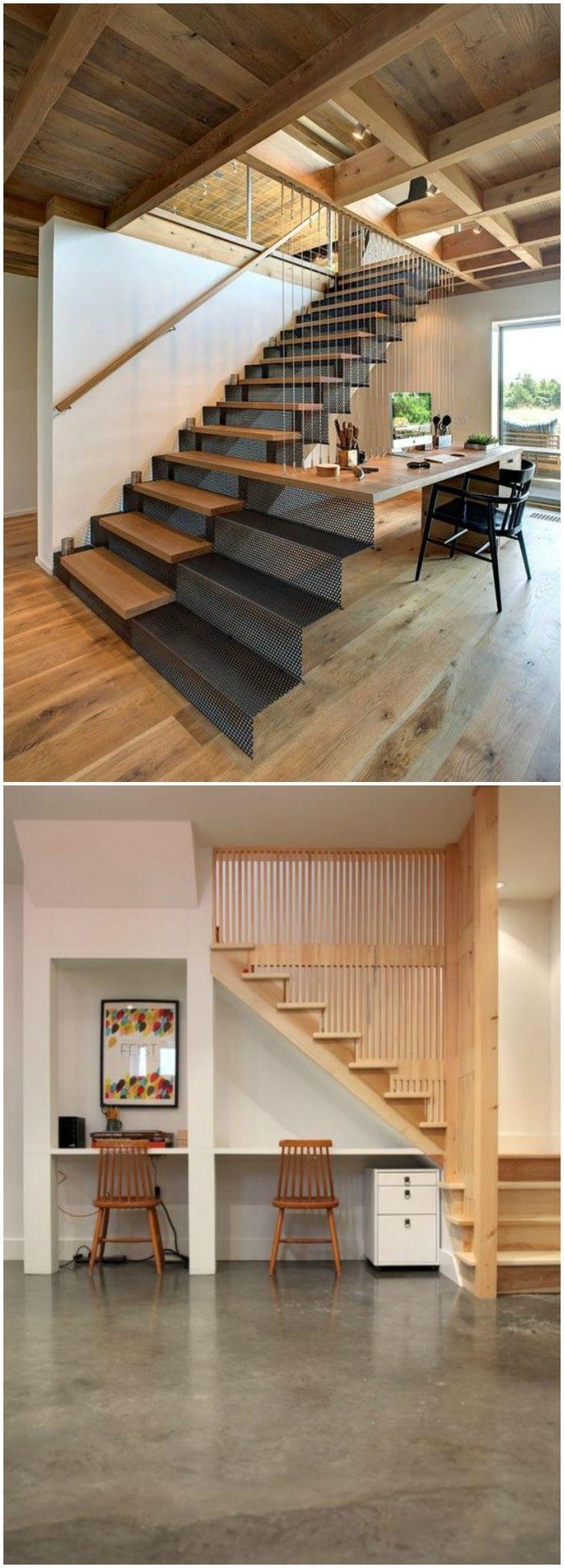 Las 25 mejores ideas sobre entrepiso en pinterest for Imagenes escaleras interiores