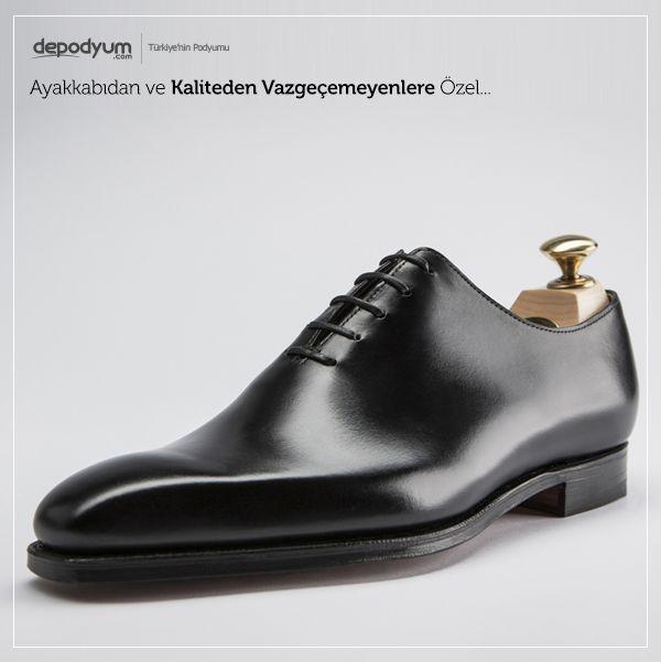 Ayakkabıdan ve Kaliteden Vazgeçemeyenlere Özel... - http://www.depodyum.com/erkek-ayakkabi-modelleri - Bir Podyum Havası.
