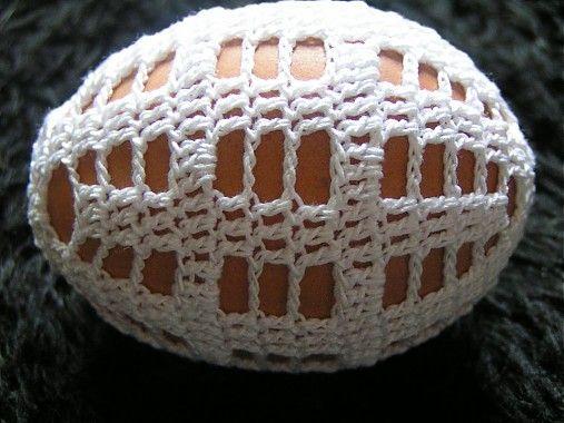 Gabriela.art / Háčkované vajce 20