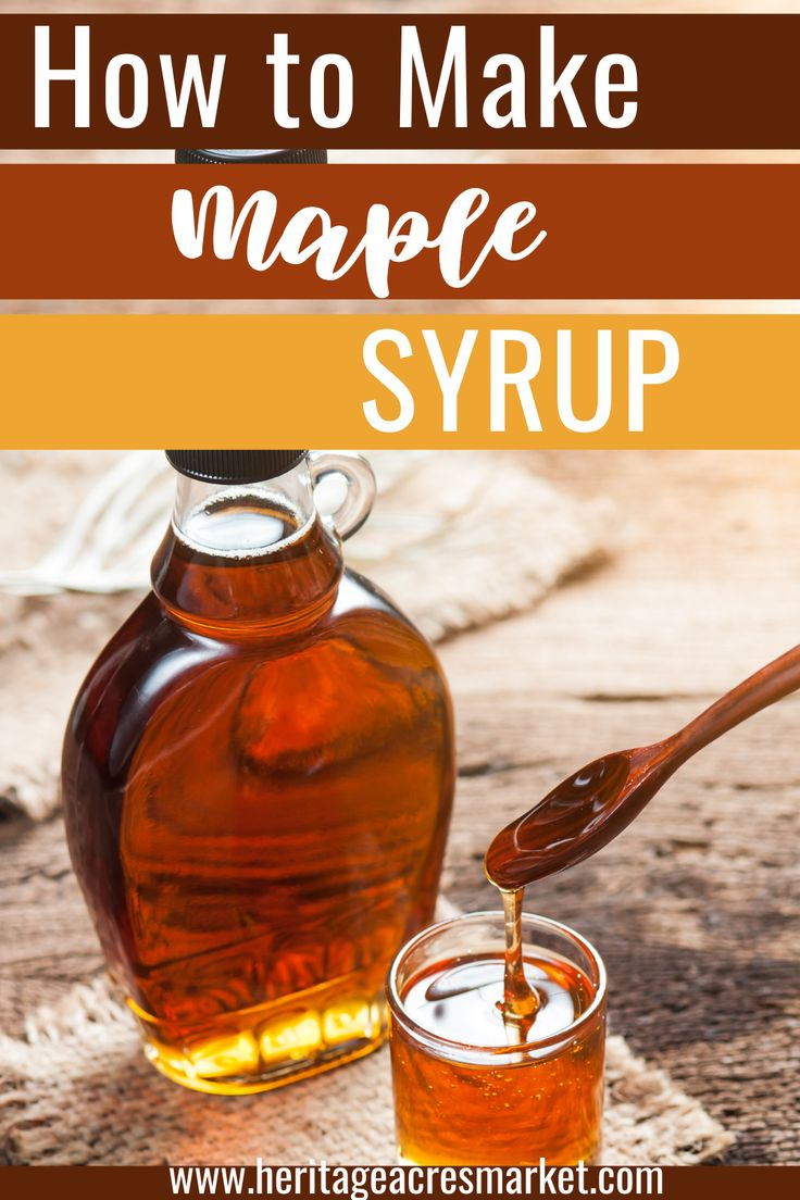 How to make maple syrup ft michelle of soulyrested in 2021