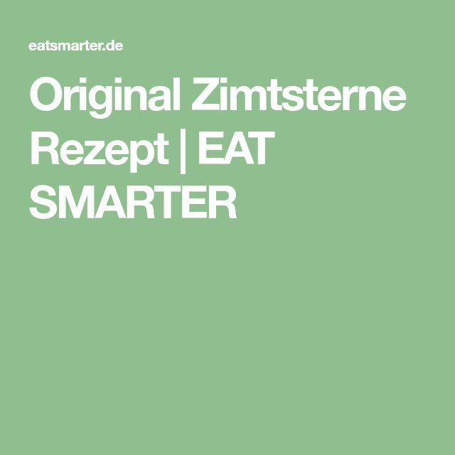 Original Zimtsterne Rezept   EAT SMARTER