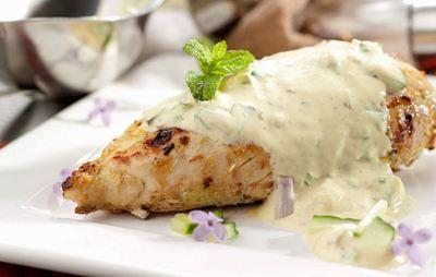 Κοτόπουλο με σως γιαουρτιού | Γόβα Στιλέτο