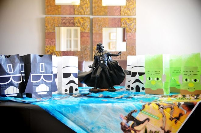 Cute Star Wars Goody Bag Ideas Star Wars Party Ideas