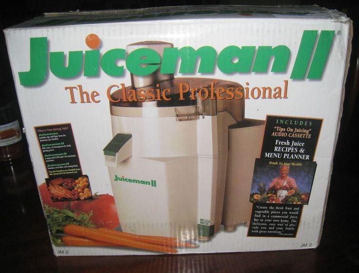The Juiceman II Automatic Juice Extractor Fruit & Vegetable Juicer Model JM-2  #Juiceman