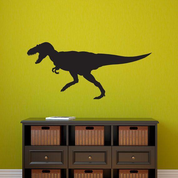 Dinosaur Wall Decal - Tyrannosaurus Rex Wall Sticker - T
