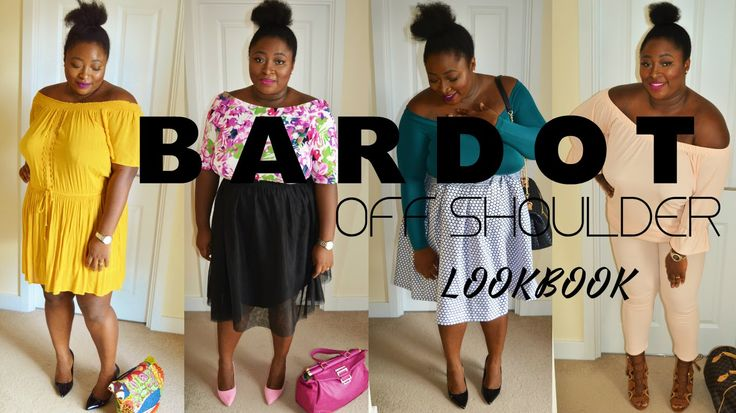 BARDOT | OFF SHOULDER LOOKBOOK (PLUS SIZE)