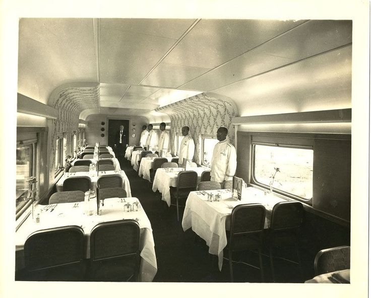 410 best railroad dining car waiters images on pinterest train trains and acl. Black Bedroom Furniture Sets. Home Design Ideas