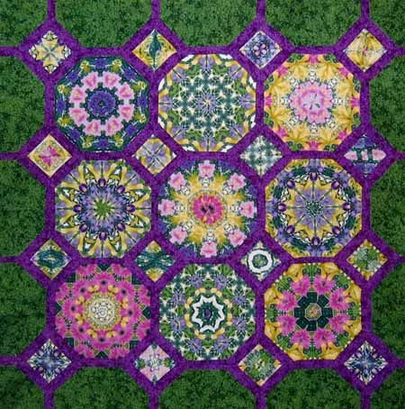 274 Best One Block Wonder Quilts Images On Pinterest Kaleidoscope