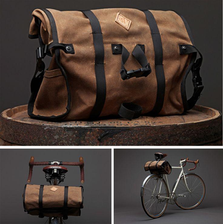 Image of No.15 Saddle Bag - Ltd. Waxed Canvas Edition