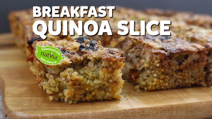 Breakfast Quinoa Slice