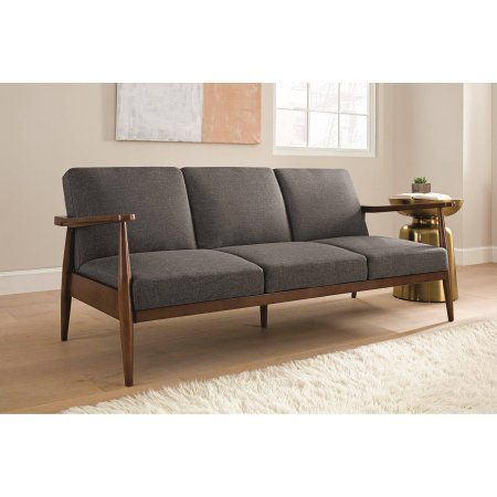 Better Homes and Gardens Mid Century Futon, Multiple Colors - Walmart.com