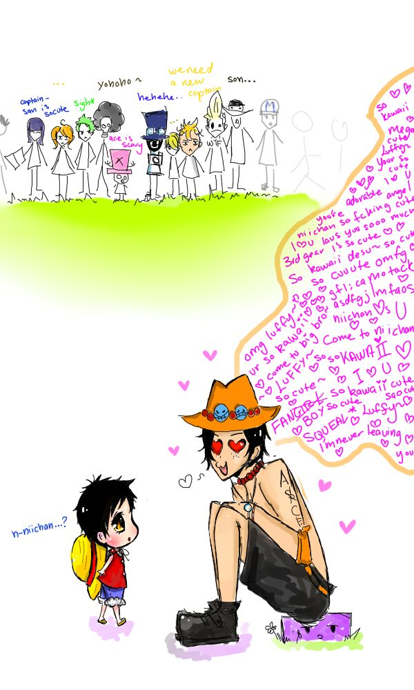 Ace's reaction to gear by kegirl on deviantart naruto uzumaki, naruto, ace, one. Ace S Reaction To Gear 3rd By Kegirl One Piece Comic Ace And Luffy One Piece Funny