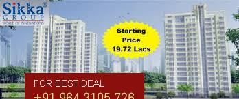 #sikkakarnamgreens offers a finest  apartments that is in terms of 2BHK, 3BHK and 4BHK. Sikka group especiallly focuses the world class apartments with all luxury in India.