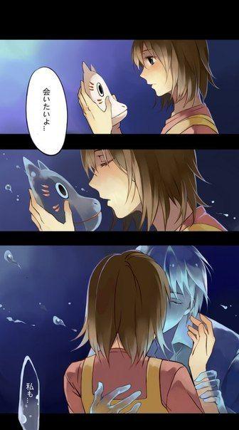 Hotarubi no Mori e   Anime I ♡   Couple manga, Manga ...