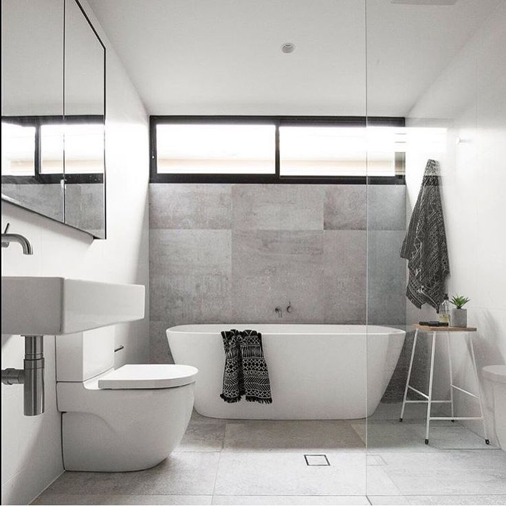 Love This Space By And Fairweather Construction 👌keeping It Simple And  Modern, This Bathroom Is Going To Last The Test Of Time!