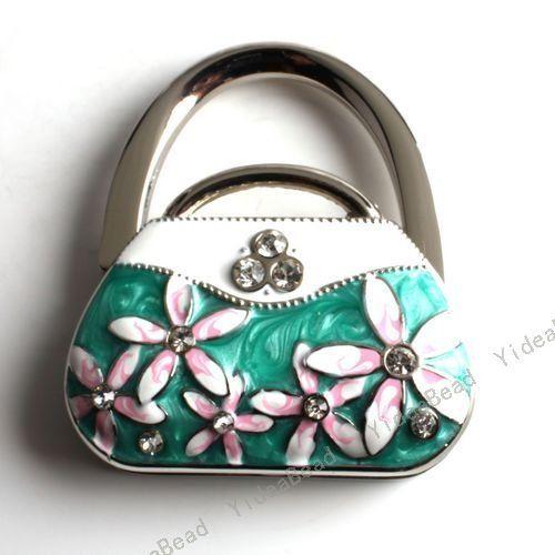 Purse Hangers | 2pcs Green Handbag Folding Purse Hanger Purse Hook Handbag  Holder For .