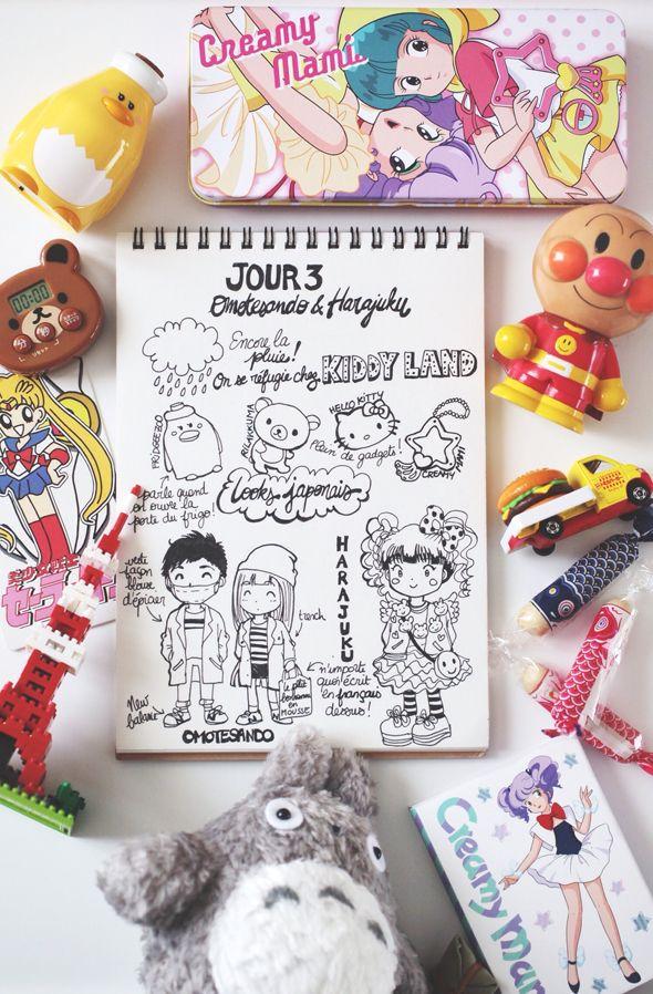 Day 3 : Omotesando & Harajuku | Le monde de Tokyobanhbao: Blog Mode gourmand