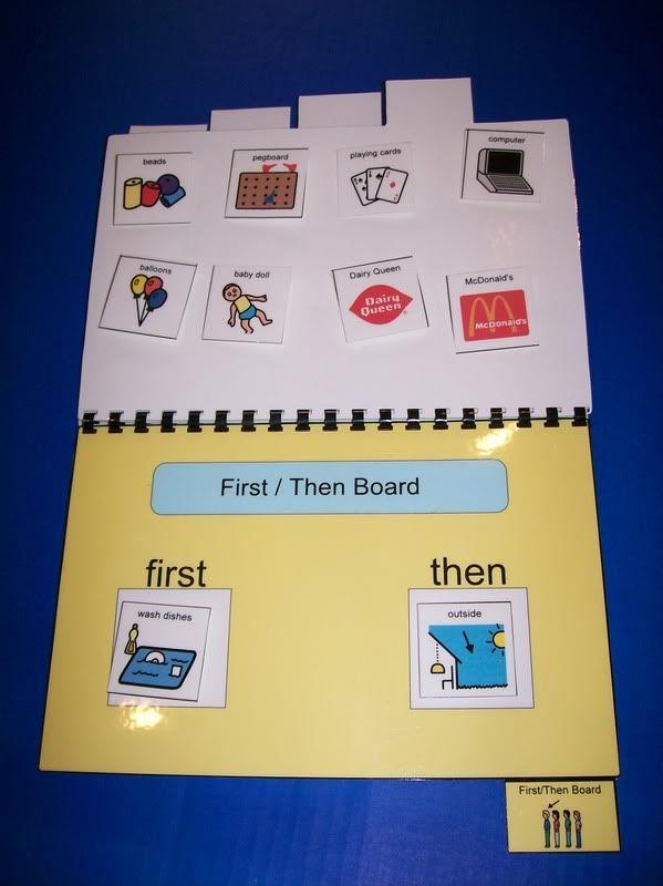 DAILY SCHEDULE Book ~ 200+ PECS~ Autism/ PDD/Aspergers | eBay