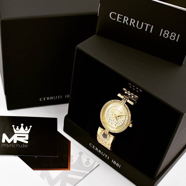 CERRUTI 1881 CRM134SG06MG   @MyRich.de #cerruti #cerruti1881 #cerrutiwatch #CRM134SG06MG #original #official #watch #style #uhr #trend #life #new #authentic #lifestyle #brand #jetset #luxus #juwelry #luxury #lady #swarovski #bracelet #special #gold #accessories #crystal