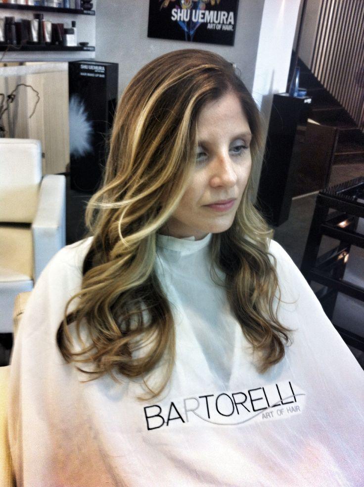 Colore blond SUN KISSED @Bartorelli art of hair Roma