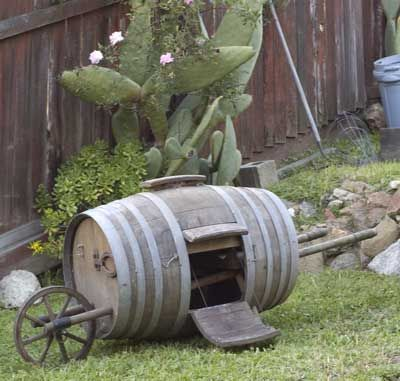 wine barrel chicken coop google search incredible