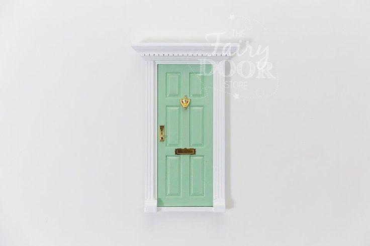 Pale Green Fairy Door