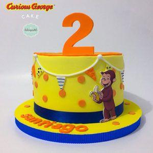Torta de Jorge El Curioso en Medellín por Dulcepastel.com #curious #curiousgeorge #curiousgeorgecake #curiousgeorgeparty #jorgeelcurioso #tortajorgeelcurioso 🐵🍌 #tortasmedellin #tortaspersonalizadas #tortastematicas #cupcakesmedellin #tortasartisticas #tortasporencargo #tortasenvigado #reposteriamedellin