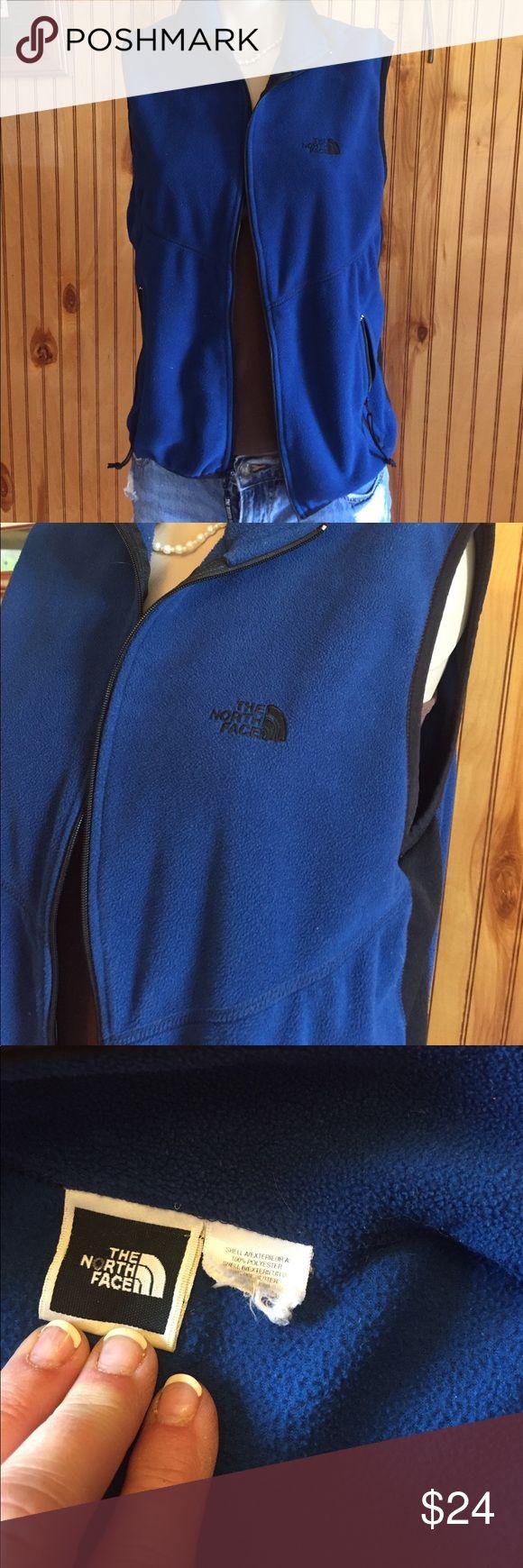 The North Face vest TNF vest. No size tag but I think it's a medium The North Face Jackets & Coats Vests