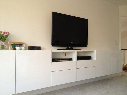 Album - 5 - Banc TV Besta Ikea, réalisations clients (série 2) - Changement de décor autour de la télé ?!