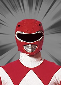 Jason Lee Scott: Mighty Morphin Tyrannosaurus Power Ranger/ Rocky DeSantos: Mighty Morphin Tyrannosaurus Power Ranger