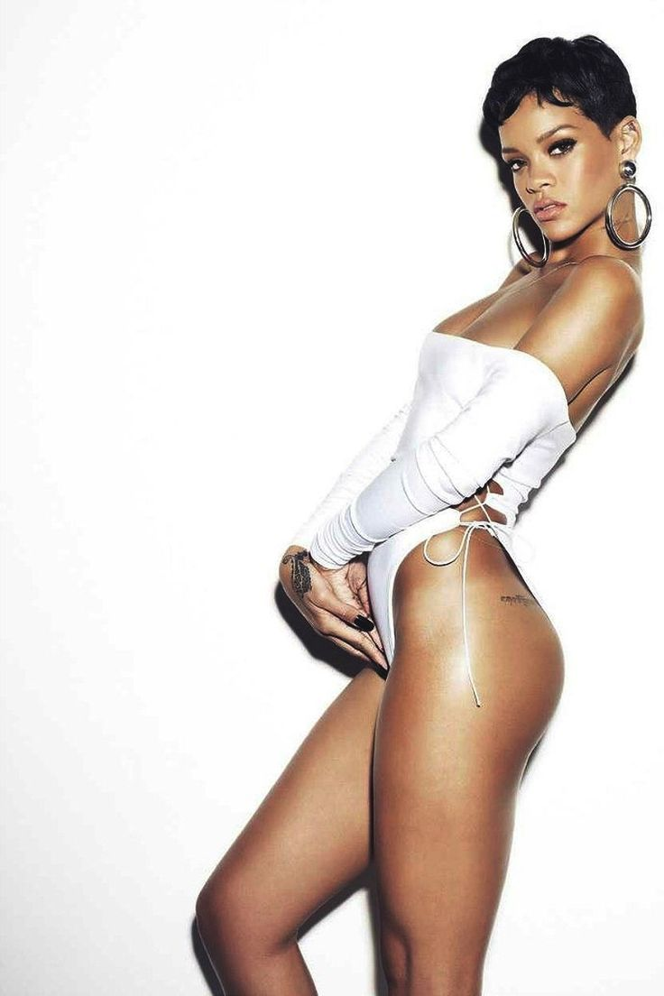 Rihanna. ...absolutely gorgeous & super talented woman!
