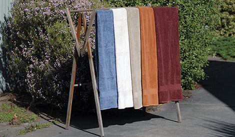 Top quality, Indian cotton-made bath linen is soft to your skin and absorb-worthy. More colours and lengths to choose from at newint.com.au/shop