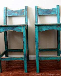 Cool bar stools-maybe different color