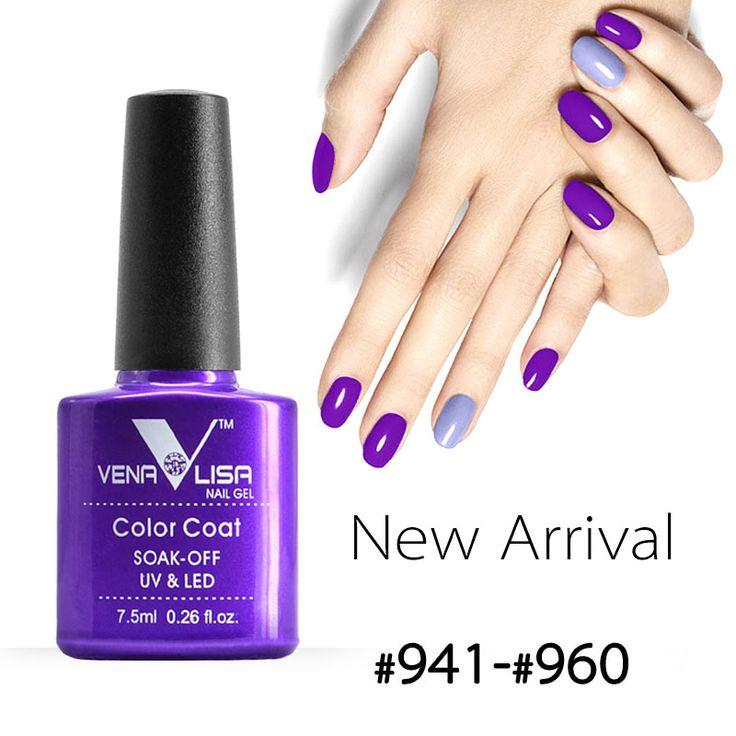#61508 venalisa canni pabrik pasokan merek baru nail art 60 warna rendam Off UV Gel Cat Lacquer Cat Kuku UV Nail Varnish Gel