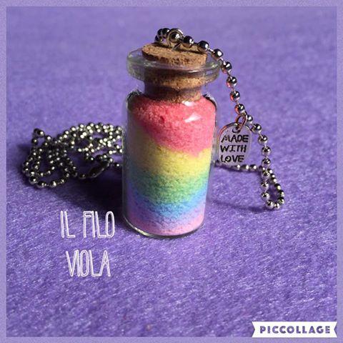collana arcobaleno #rainbow #colors  https://www.facebook.com/ilfiloviola