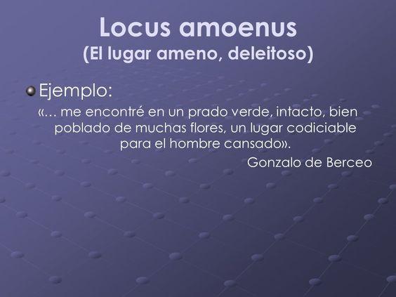 Que significa locus amoenus yahoo dating