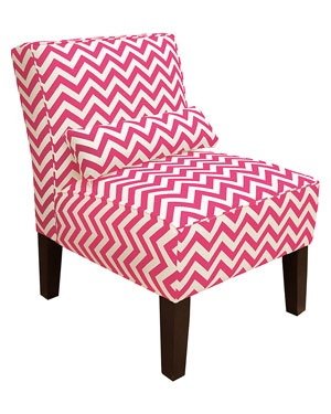Pink chevron chair - love!#Repin By:Pinterest++ for iPad#