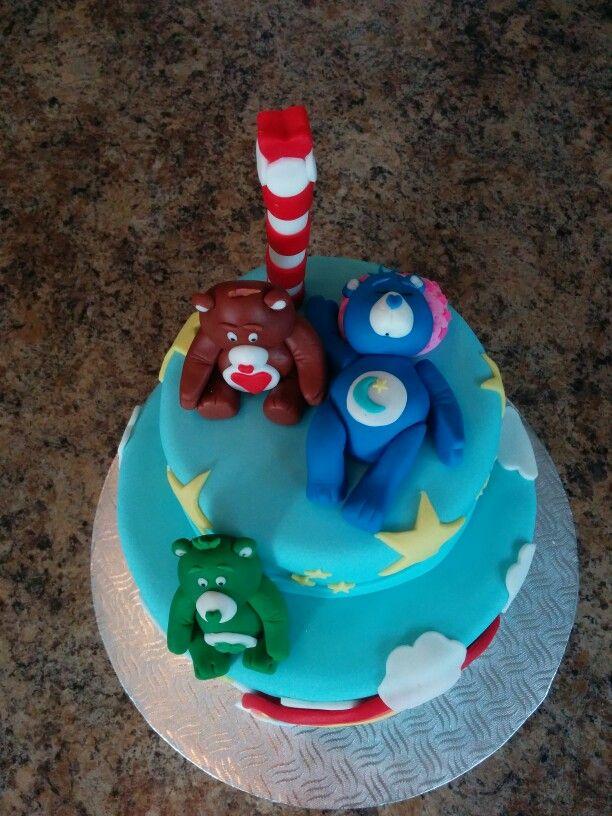 Care bear cake - gâteau calinours