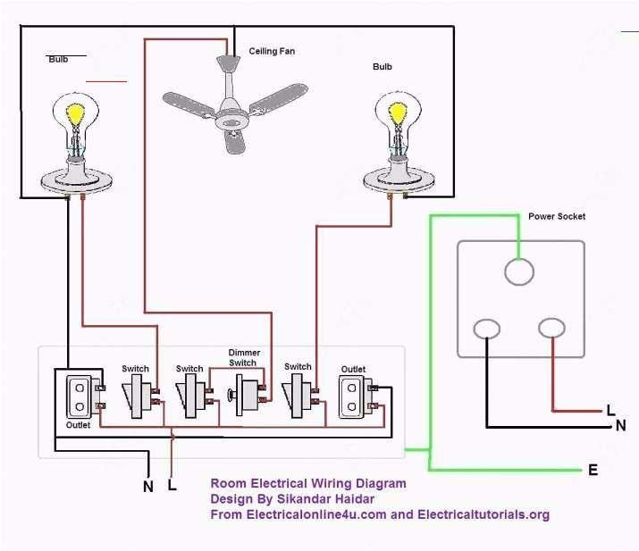 17 Electrical Wiring Circuit Diagram Wiring Diagram Wiringg Net 17 Electrical Wiring Circuit In 2020 Home Electrical Wiring House Wiring Basic Electrical Wiring