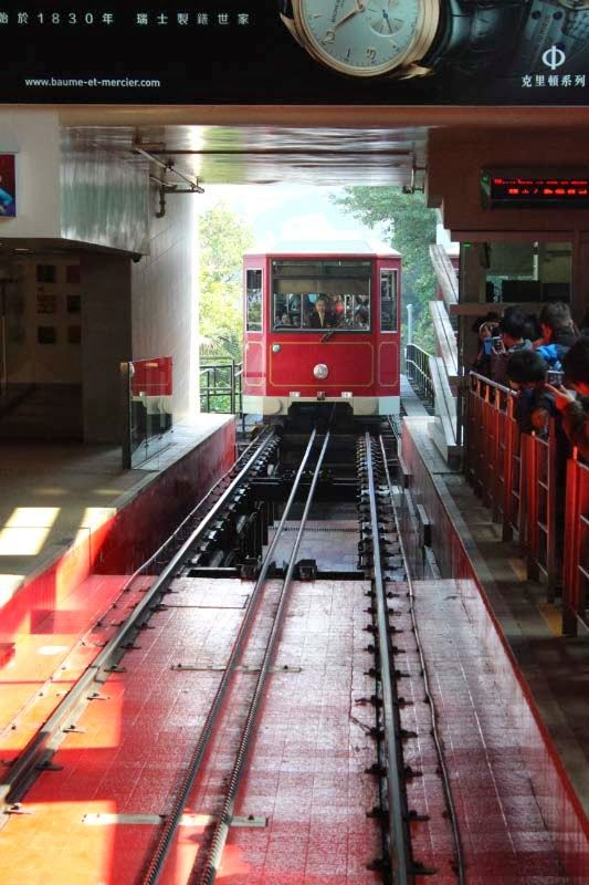 The Happy Travelling Family: Hong Kong - Victoria Peak and the Peak Tram