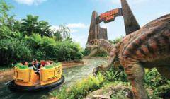 Jurassic Park Rapids Adventure - Universal Studios | Resorts World Sentosa Singapore