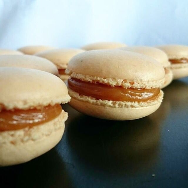 #macaron #caramel #patisserie #gourmandise