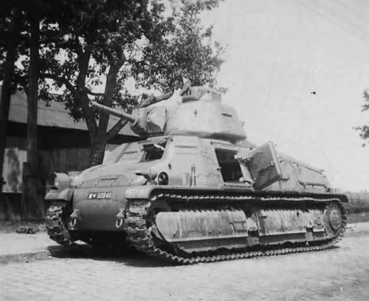 The SOMUA S35 was a French Cavalry tank of the Second World War.