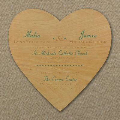 Showcase Your Love Of The Outdoors And Each Other. With The Grain    Invitation. Wedding Invitation Trends ...