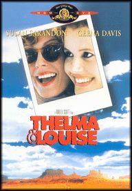 Thelma & Louise (1991) EEUU. Dir.: Ridley Scott. Drama. Road Movie. Temas de xénero -- DVD CINE 2359