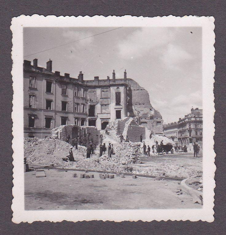 SSuper Foto 2.WK.zerstörte Häuser in WarschauPolen eBay