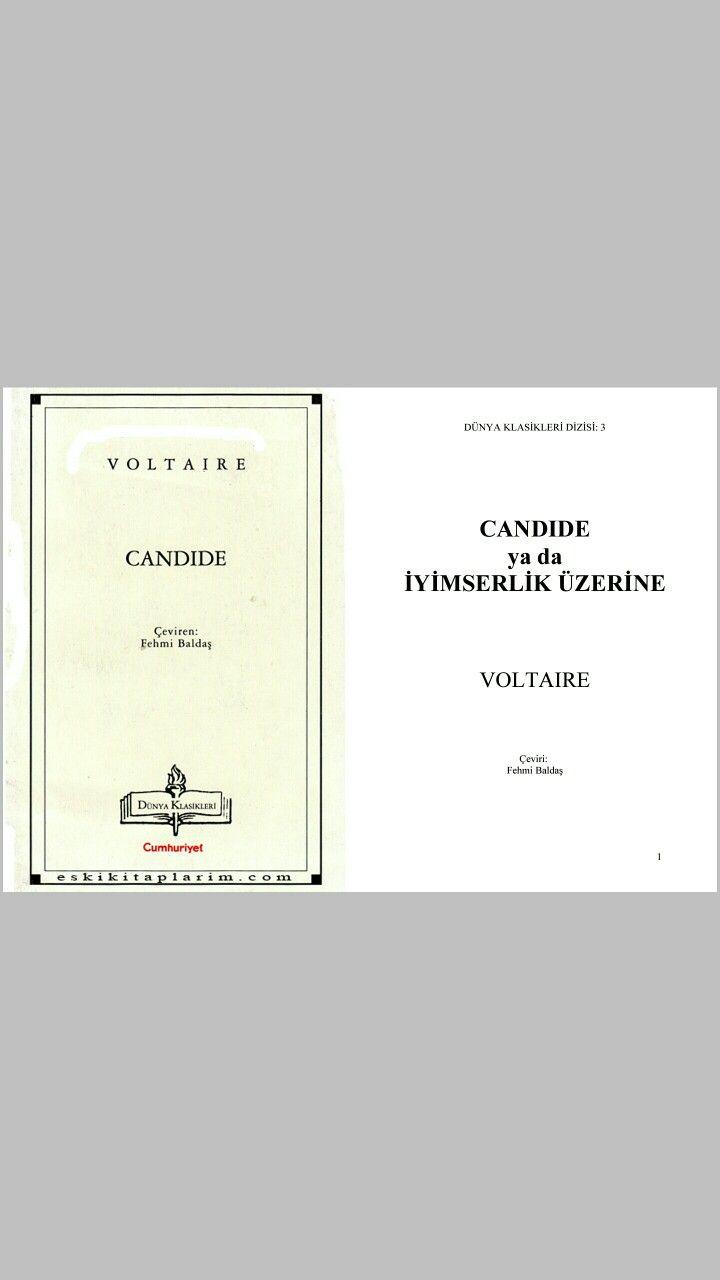 VOLTAIRE - Candide ya da Iyimserlik Üzerine