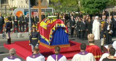 Funeraliile Reginei Ana. Imagini impresionante de la ceremonie. 13 august este zi de doliu național pe teritoriul României