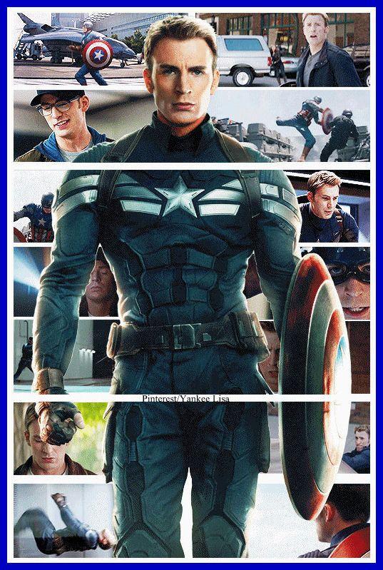 Chris Evans - Captain America: The Winter Soldier